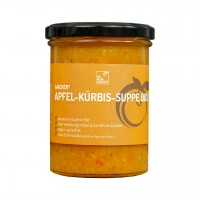 Wacker Apfel-Kürbis-Suppe Bio, 400 ml
