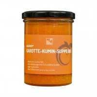 Wacker Karotte-Kumin-Suppe Bio, 400 ml